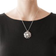 Sarah Kosta Joyas – Colgante calado en plata 950 con perla COPLPE1173