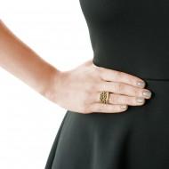 Sarah Kosta anillo en plata 950 con baño de oro 18kt y citrinos – ANPLCI1229_d