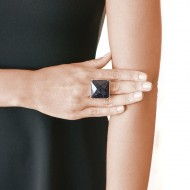 Sarah Kosta 950 silver ring with star stone – ANPLPE1176