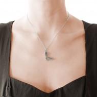 Sarah Kosta 950 silver pendant with high gloss druzy agate – COPLAB1282_c