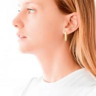 Sarah Kosta 18K gold earrings with crystals – CAPLOA1278