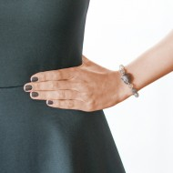 Sarah Kosta 950 silver bracelet with agates – PUPLAG1192_d