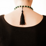 Sarah Kosta 950 silver green quartz and agate necklace -COPLCV1301_f