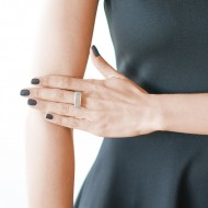 Sarah Kosta 950 silver ring with high gloss druzy agate – ANPLAB1392_d