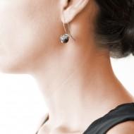 Sarah Kosta 950 silver earrings with rutilated quartz – CAPLCU1078 (2)_d