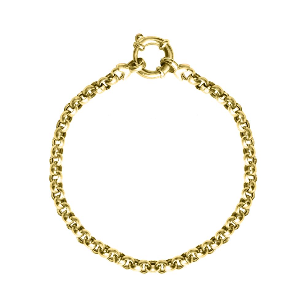 e8ed9bbdff2d Pulsera tipo cadena en oro amarillo 18 kt - Sarah Kosta