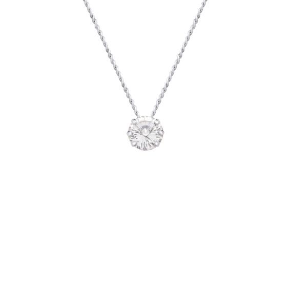 Sarah Kosta Joyas - Colgante con cristal engarzado en plata 950 COPLCR1322_a