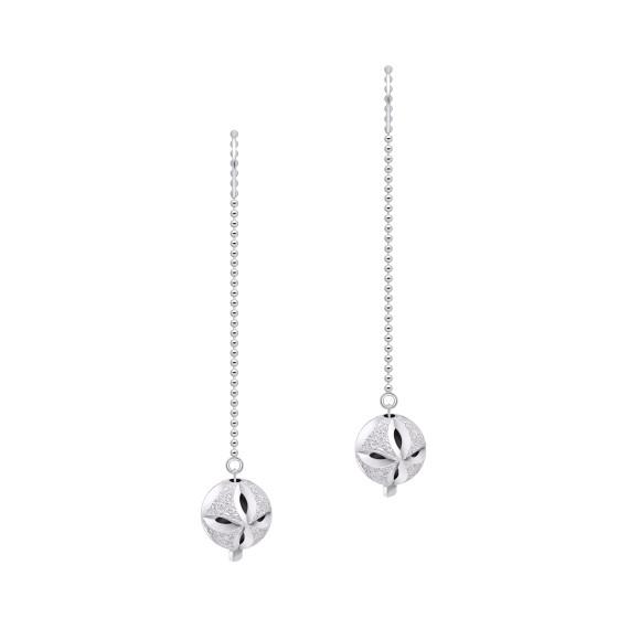 Sarah Kosta Joyas - Caravanas en plata 950 con perlas diamantadas CAPLPL1335_a