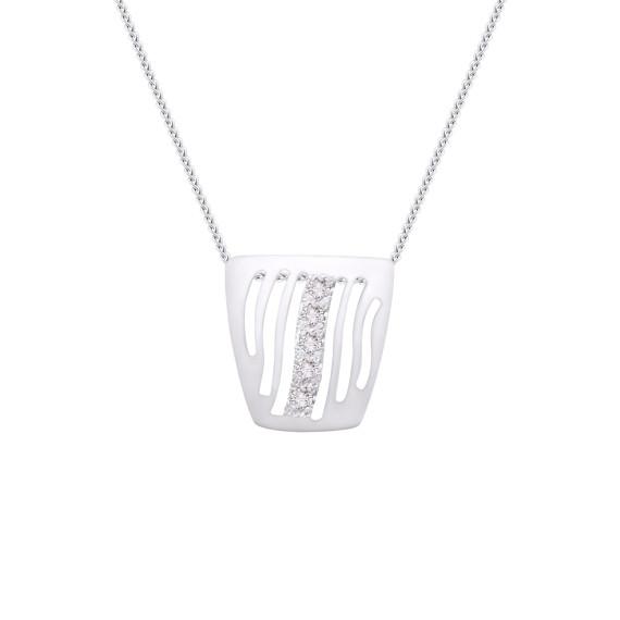 Sarah Kosta Joyas - Colgante calado en plata 950 con cristales COPLCR1357_a