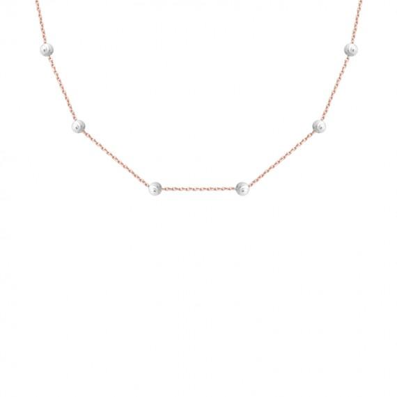 Sarah Kosta cadena en plata 925 con baño de oro rosa 18 kt - COPLOR1367_a
