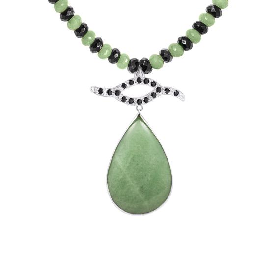 sarah-kosta-joyas-collar-de-agatas-negras-y-cuarzo-verde-con-gota-de-cuarzo-verde-y-pieza-en-plata-950-con-espineles-negros-coplcv1345_a