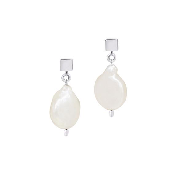 Sarah Kosta Joyas - Caravanas en plata 950 con perlas CAPLPE1369_a