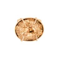 Sarah Kosta Joyas – Anillo en plata 950 con baño de oro rosa 18 kt y pirita ANORPI1481_c