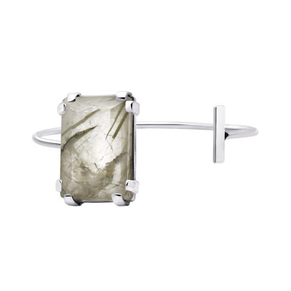 Sarah Kosta Joyas - Pulsera en plata 950 con cuarzo turmalinado PUPLCT1035_a